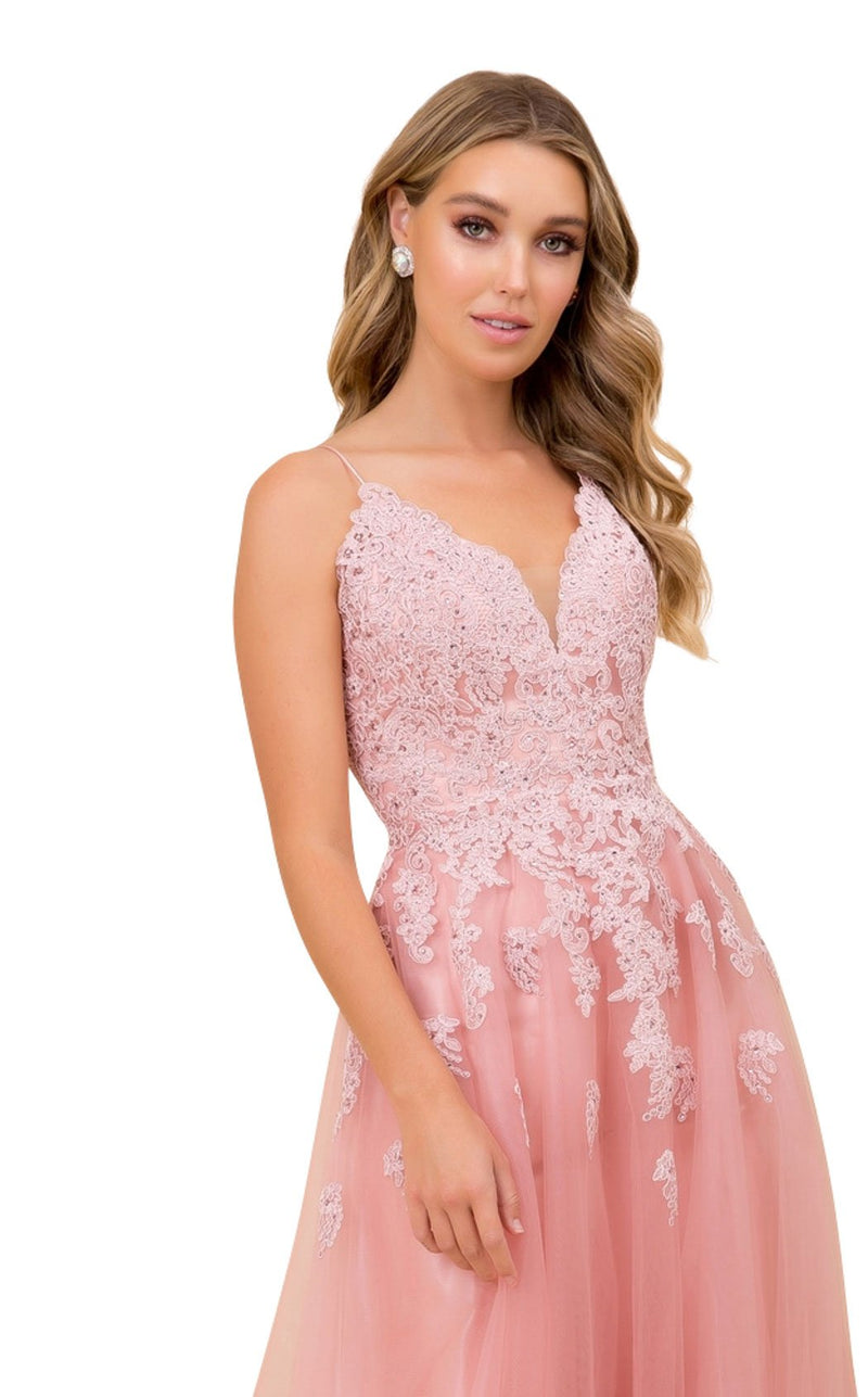 Nox Anabel R351 Dress Rose