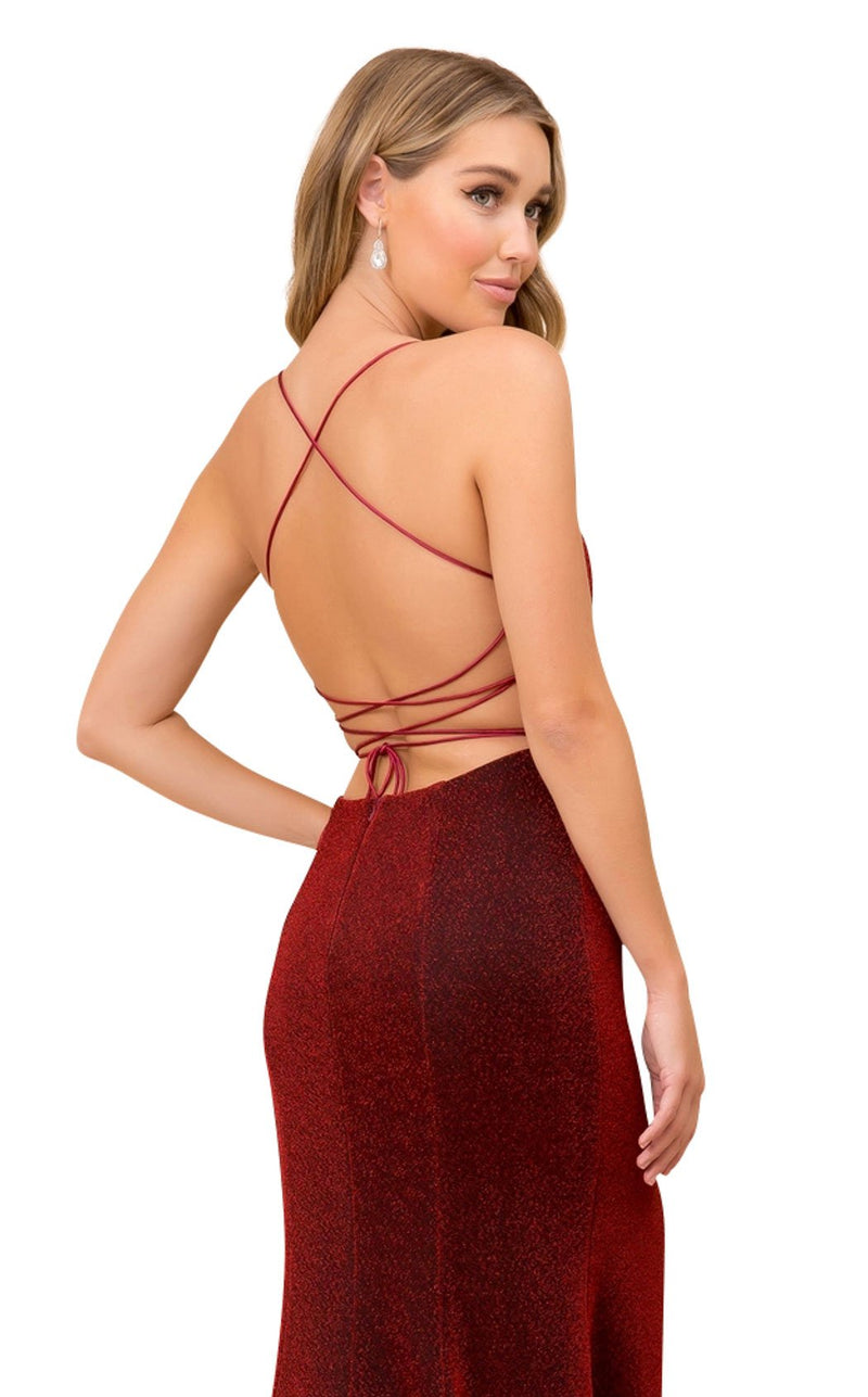 Nox Anabel R358 Dress Burgundy