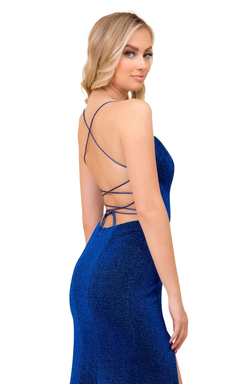 Nox Anabel R358 Dress Royal-Blue