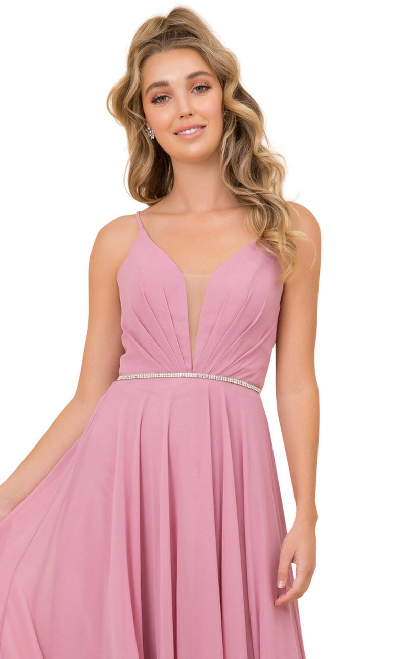 Nox Anabel R416 Dress Dusty-Rose