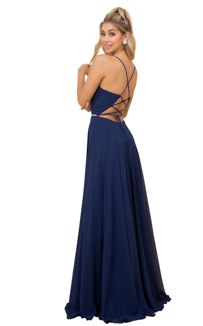 Nox Anabel R416 Dress Navy-Blue