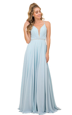 Nox Anabel R416 Dress Pale-Turquoise