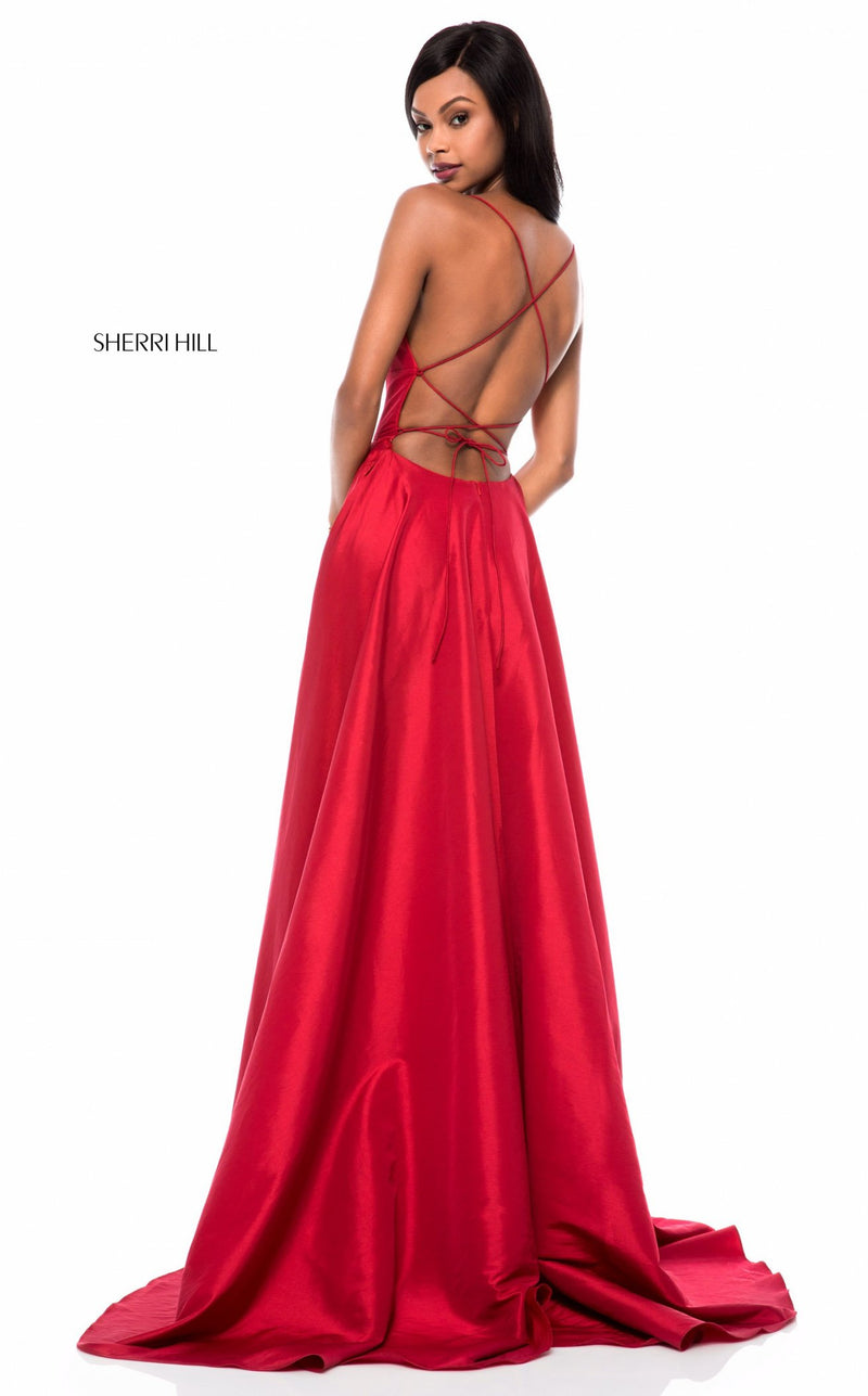 Sherri Hill 52022 Dress Red
