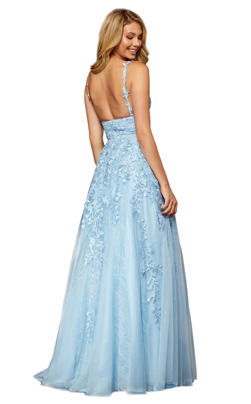 Sherri Hill 52342 Light-Blue