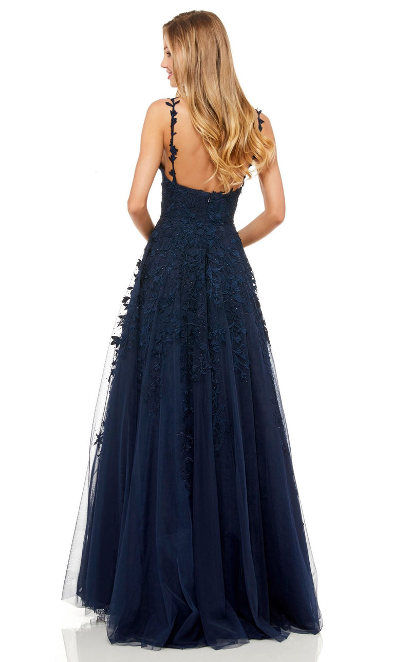 Sherri Hill 52342 Navy