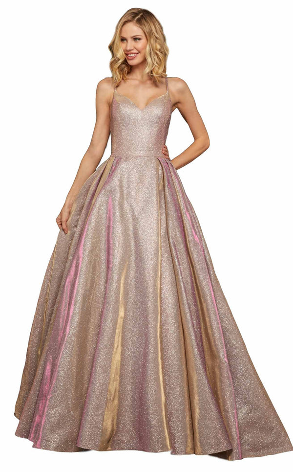 Sherri Hill 52364 Rose-Gold