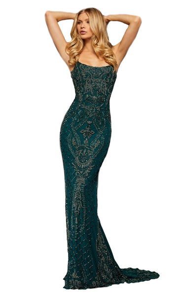 Sherri Hill 52454 Teal
