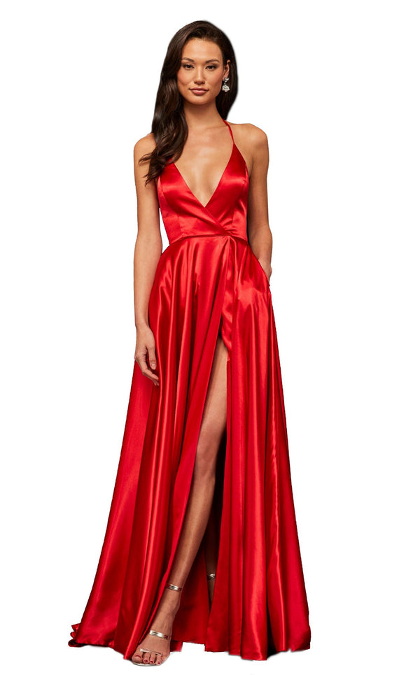 Sherri Hill 52921 Red