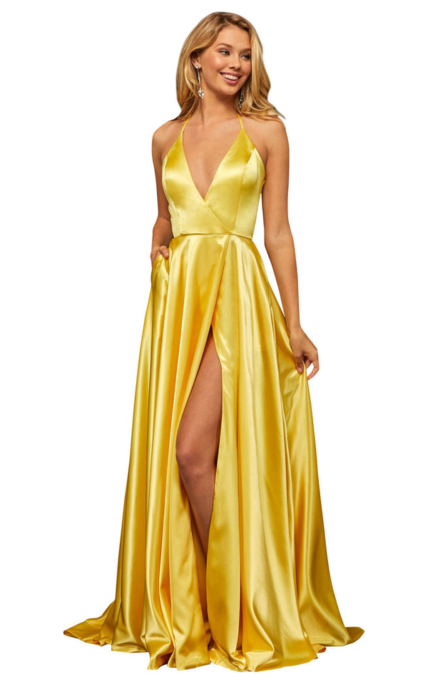 Sherri Hill 52921 Yellow