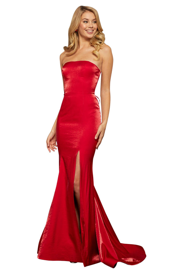 Sherri Hill 52961 Red
