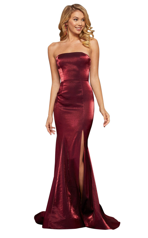 Sherri Hill 52961 Wine