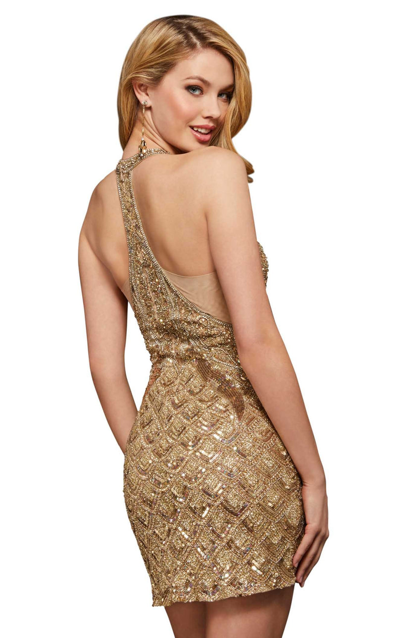 Sherri Hill 52993 Gold