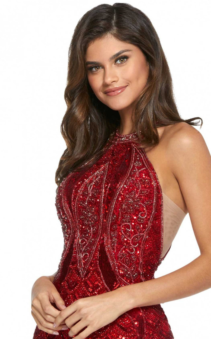 Sherri Hill 52993 Red