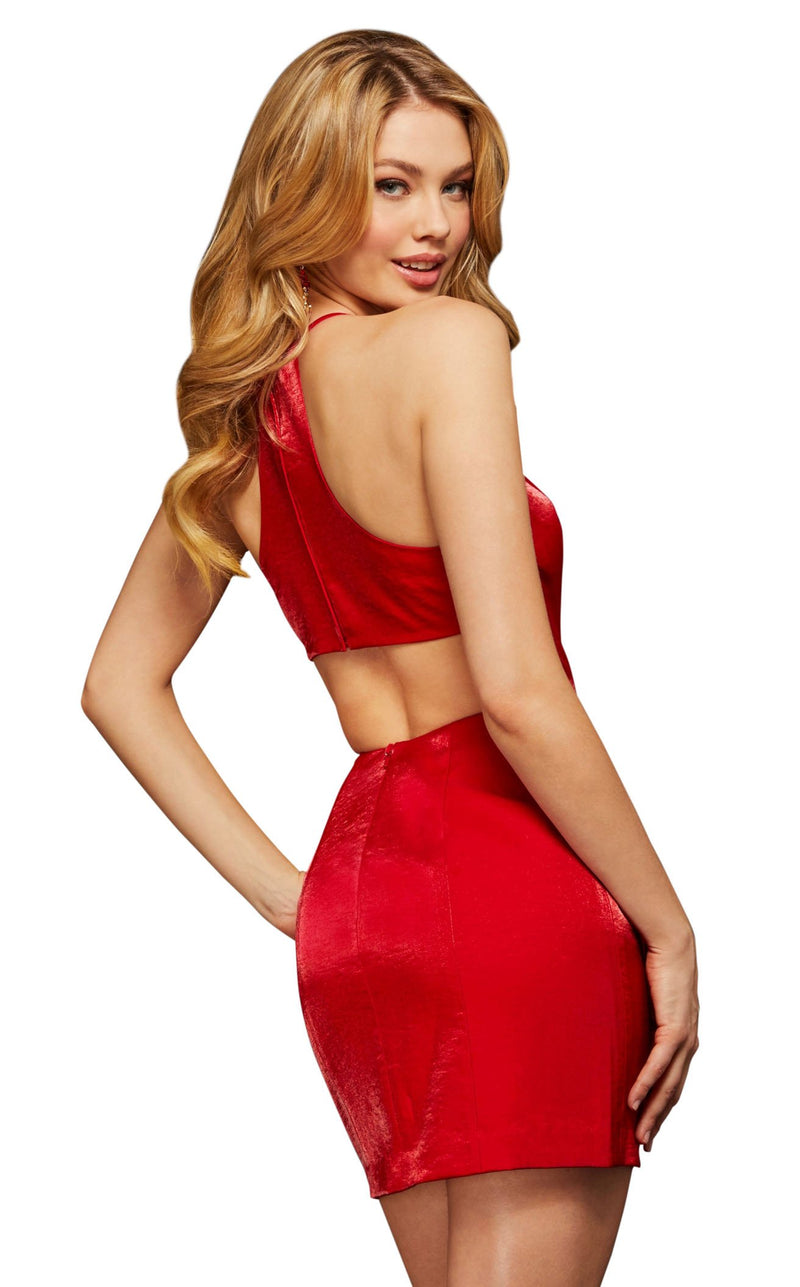 Sherri Hill 53004 Red