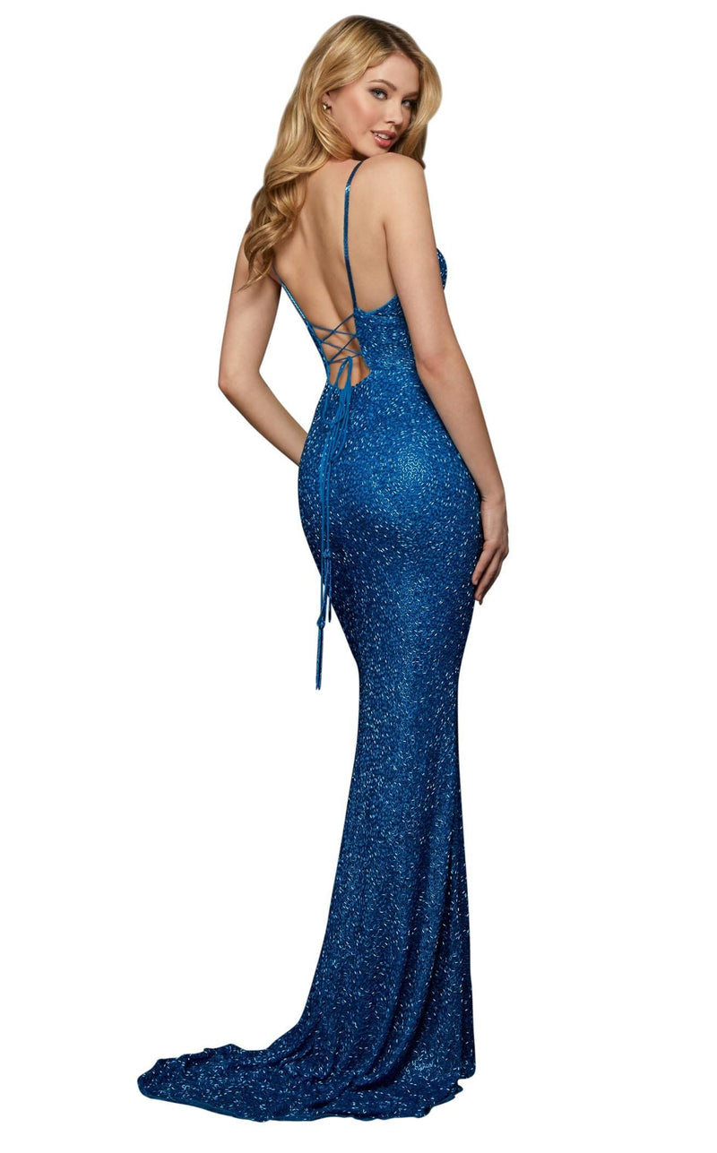 Sherri Hill 53008 Peacock