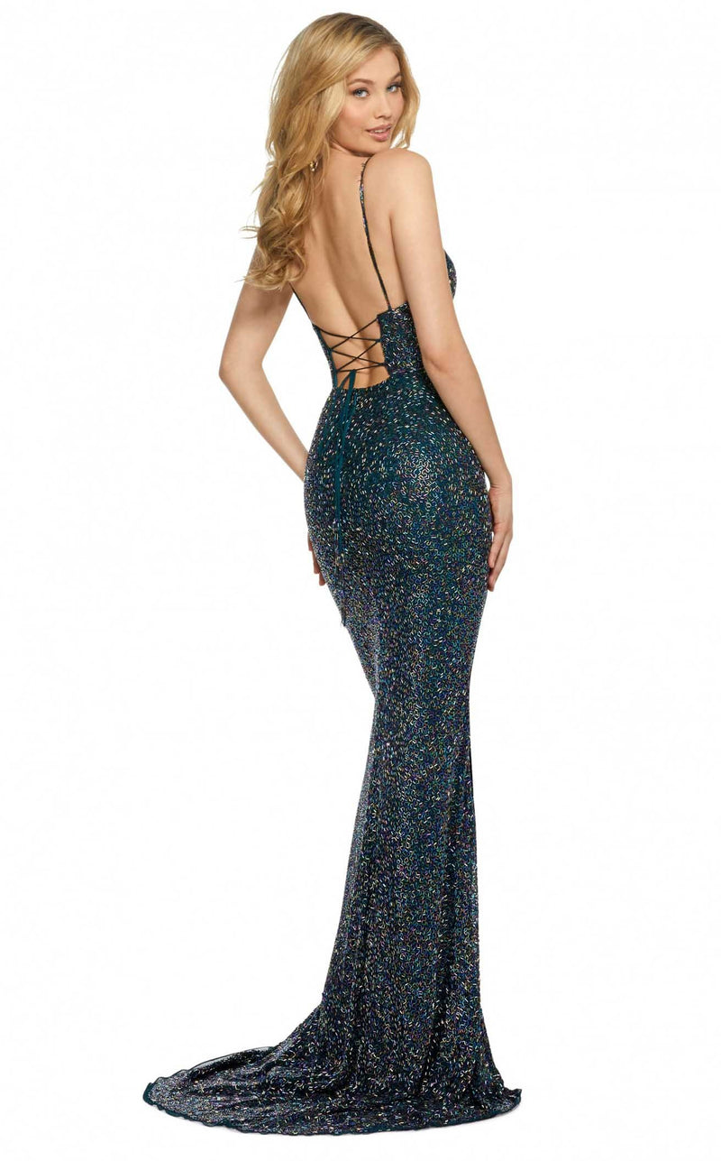 Sherri Hill 53008 Teal