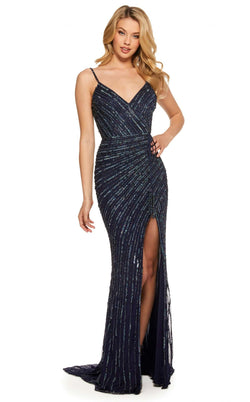 Sherri Hill 53037 Navy