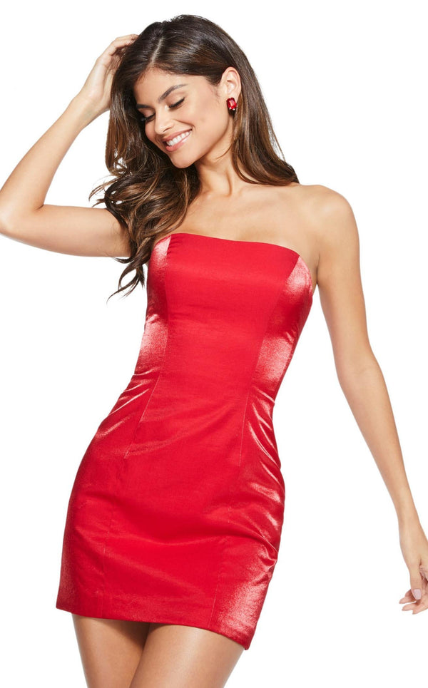 Sherri Hill 53087 Red