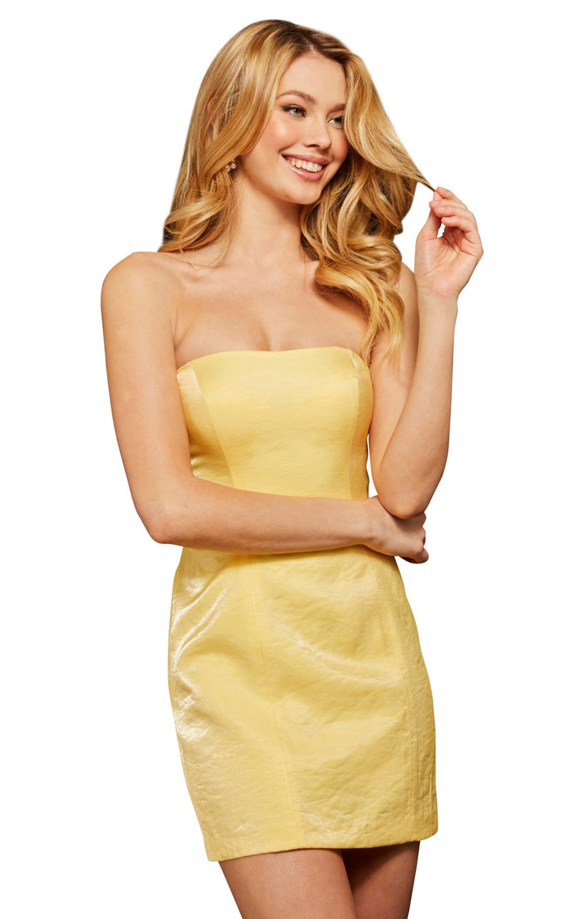 Sherri Hill 53087 Yellow