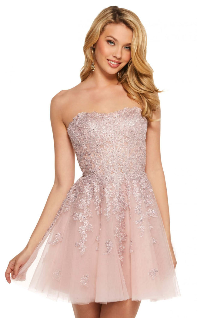 Sherri Hill 53099 Blush