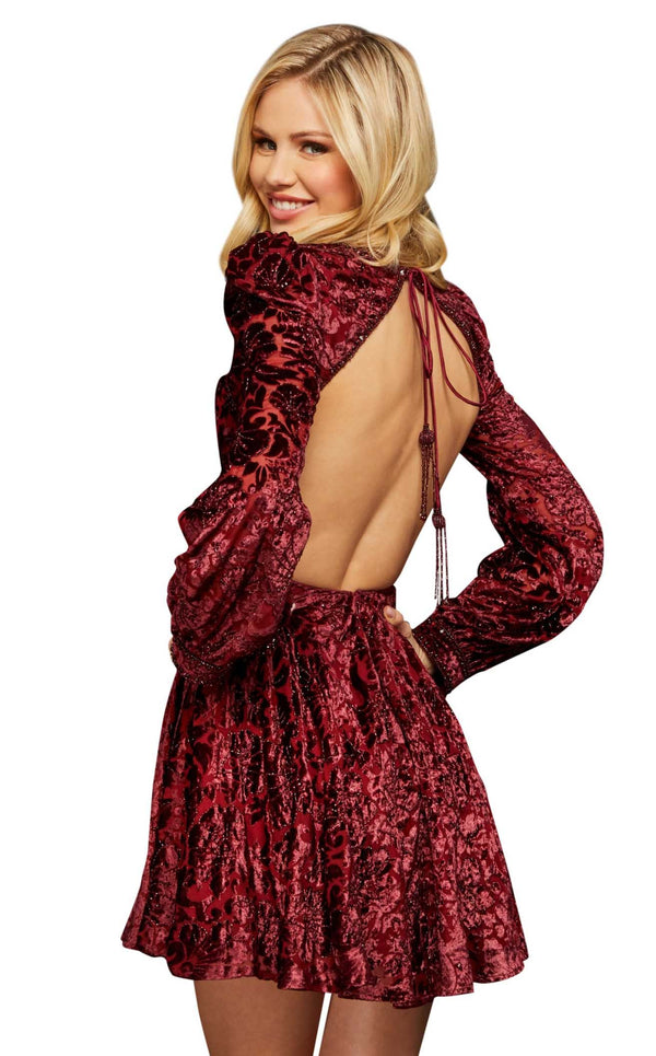 Sherri Hill 53115 Burgundy