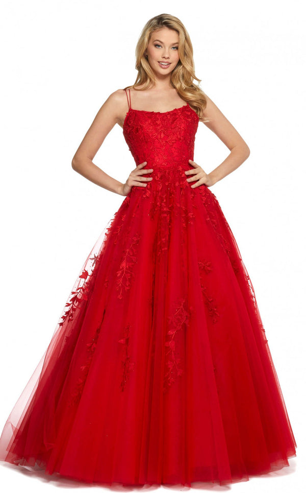 Sherri Hill 53116 Red