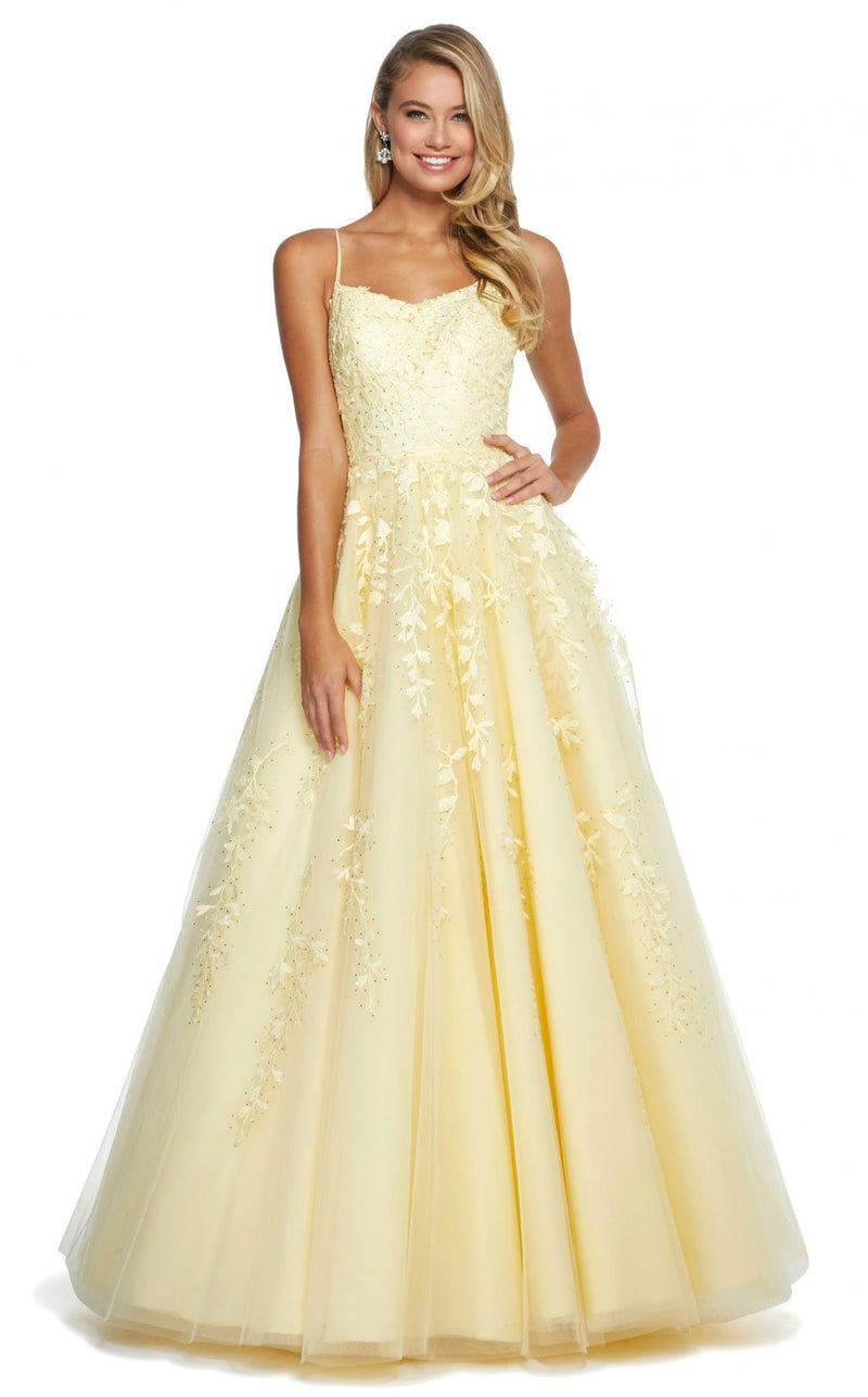 Sherri Hill 53116 Yellow