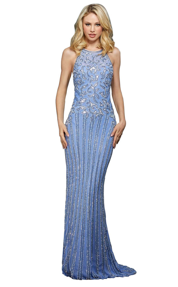 Sherri Hill 53132 Light-Blue