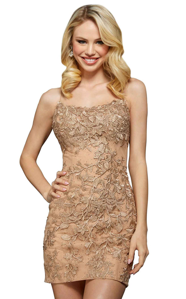 Sherri Hill 53151 Gold