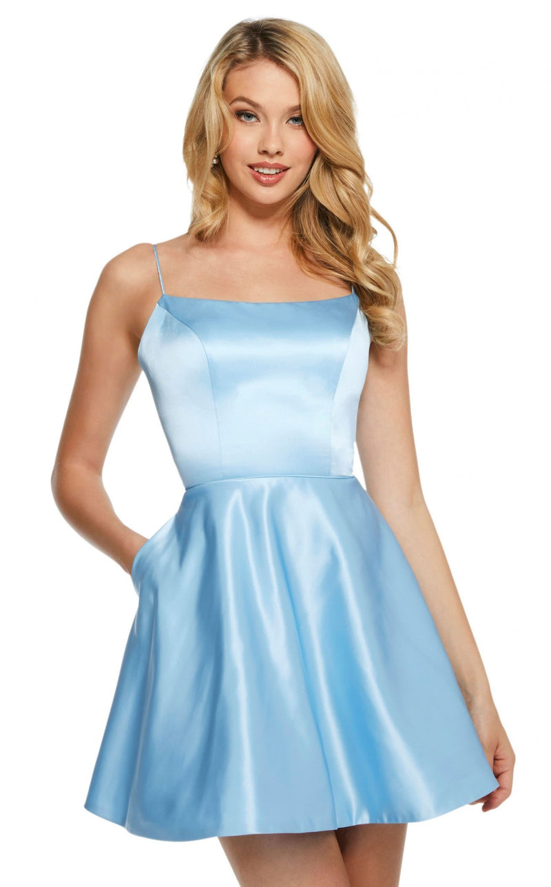 Sherri Hill 53267 Light-Blue