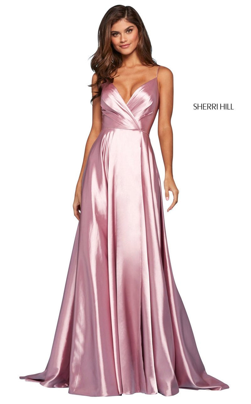 Sherri Hill 53299 Dress Rose