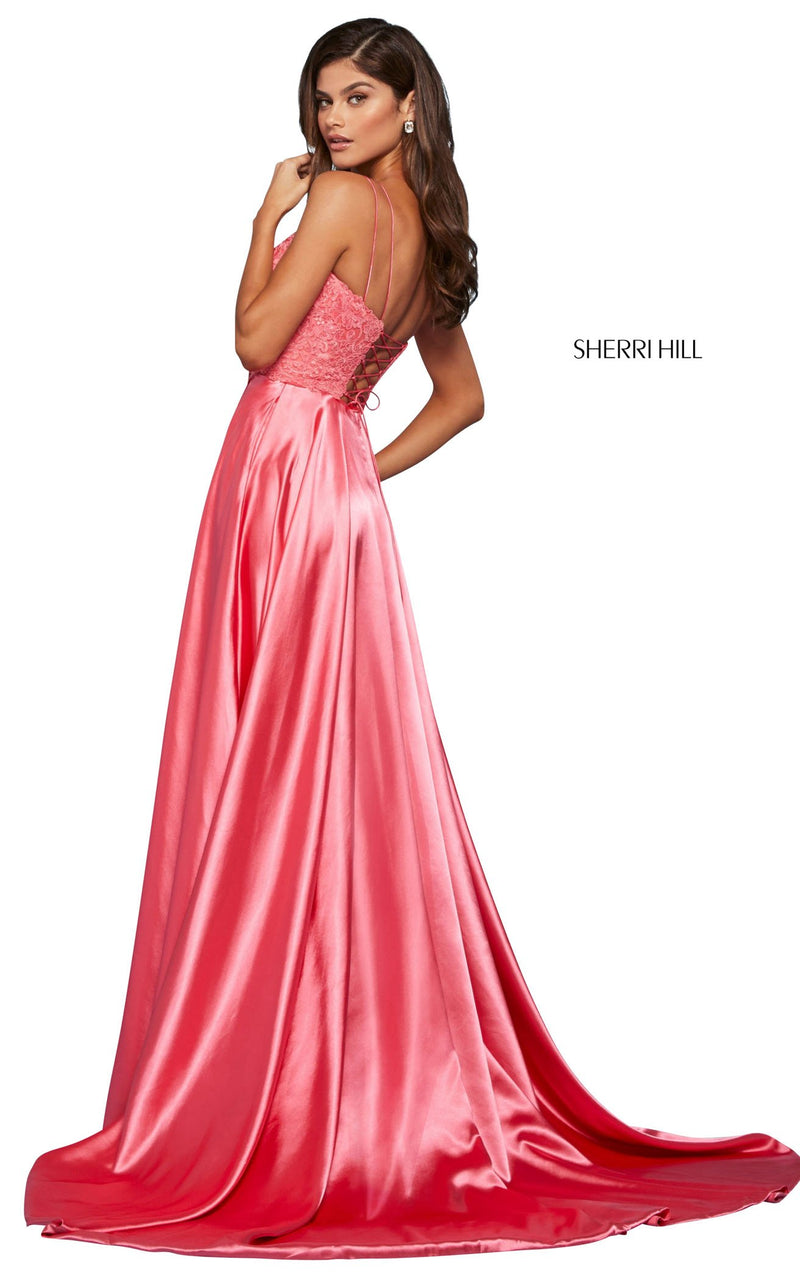 Sherri Hill 53300 Dress Coral