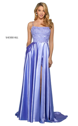 Sherri Hill 53300 Dress Lilac