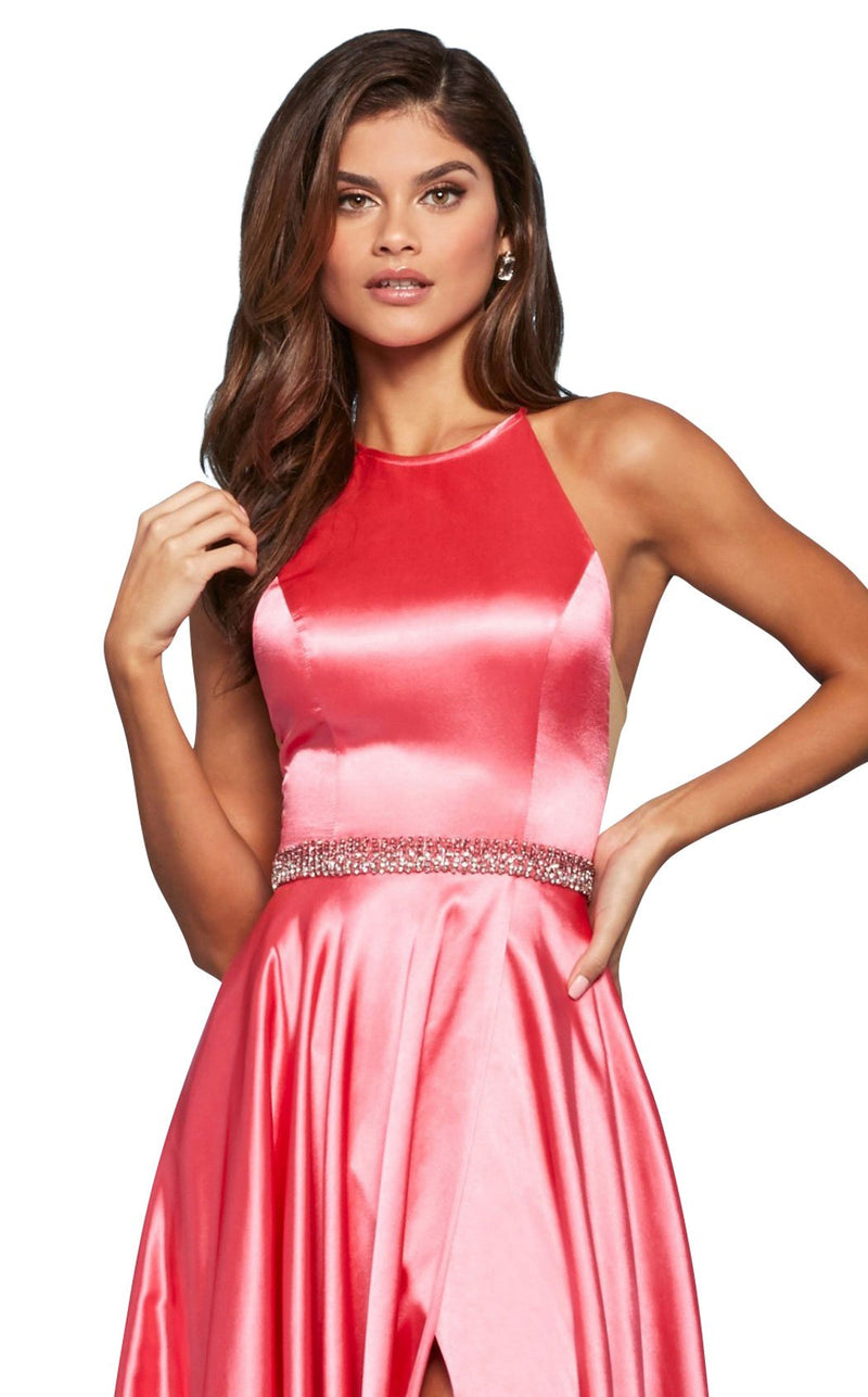 Sherri Hill 53302 Dress Coral