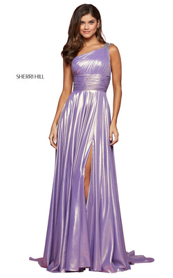 Sherri Hill 53303 Dress Lilac-Gold