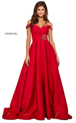 Sherri Hill 53309 Dress Red