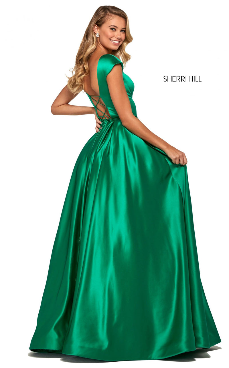 Sherri Hill 53315 Dress Emerald