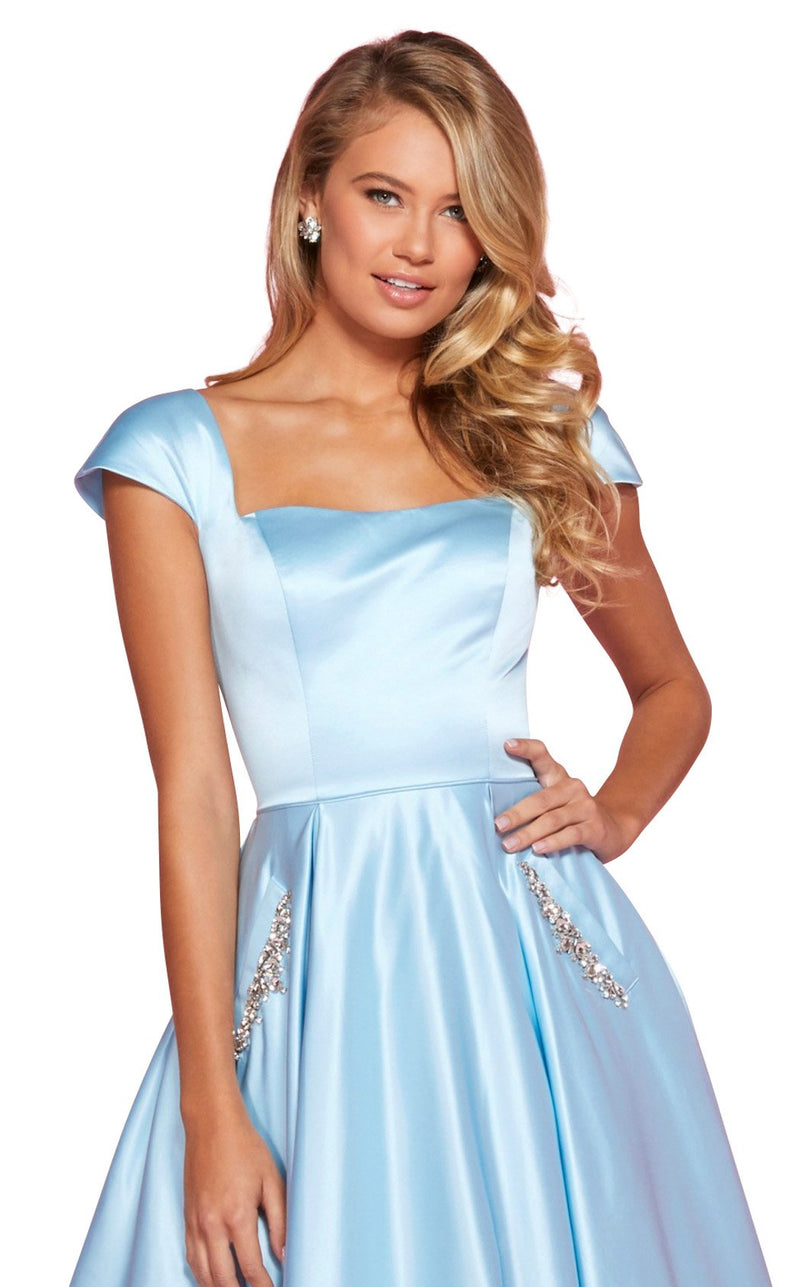 Sherri Hill 53315 Dress Light-Blue