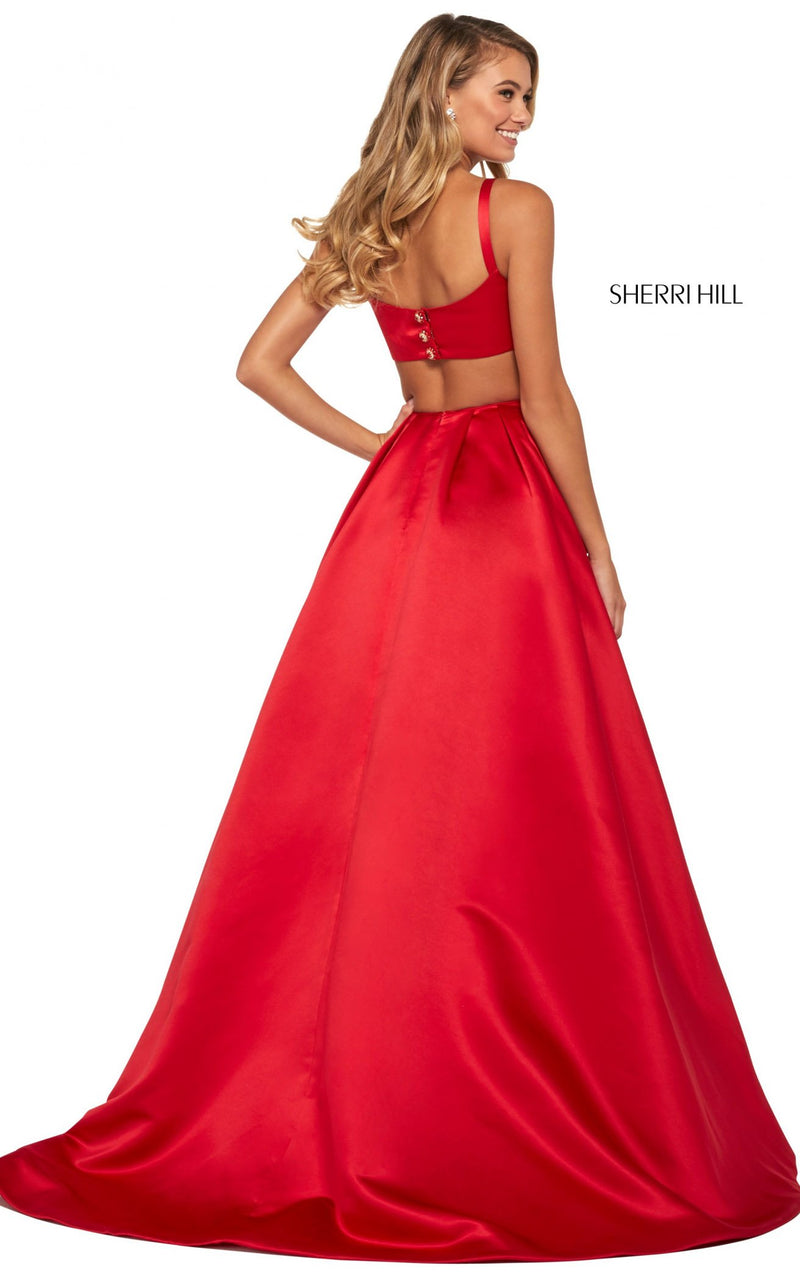 Sherri Hill 53316 Dress Red