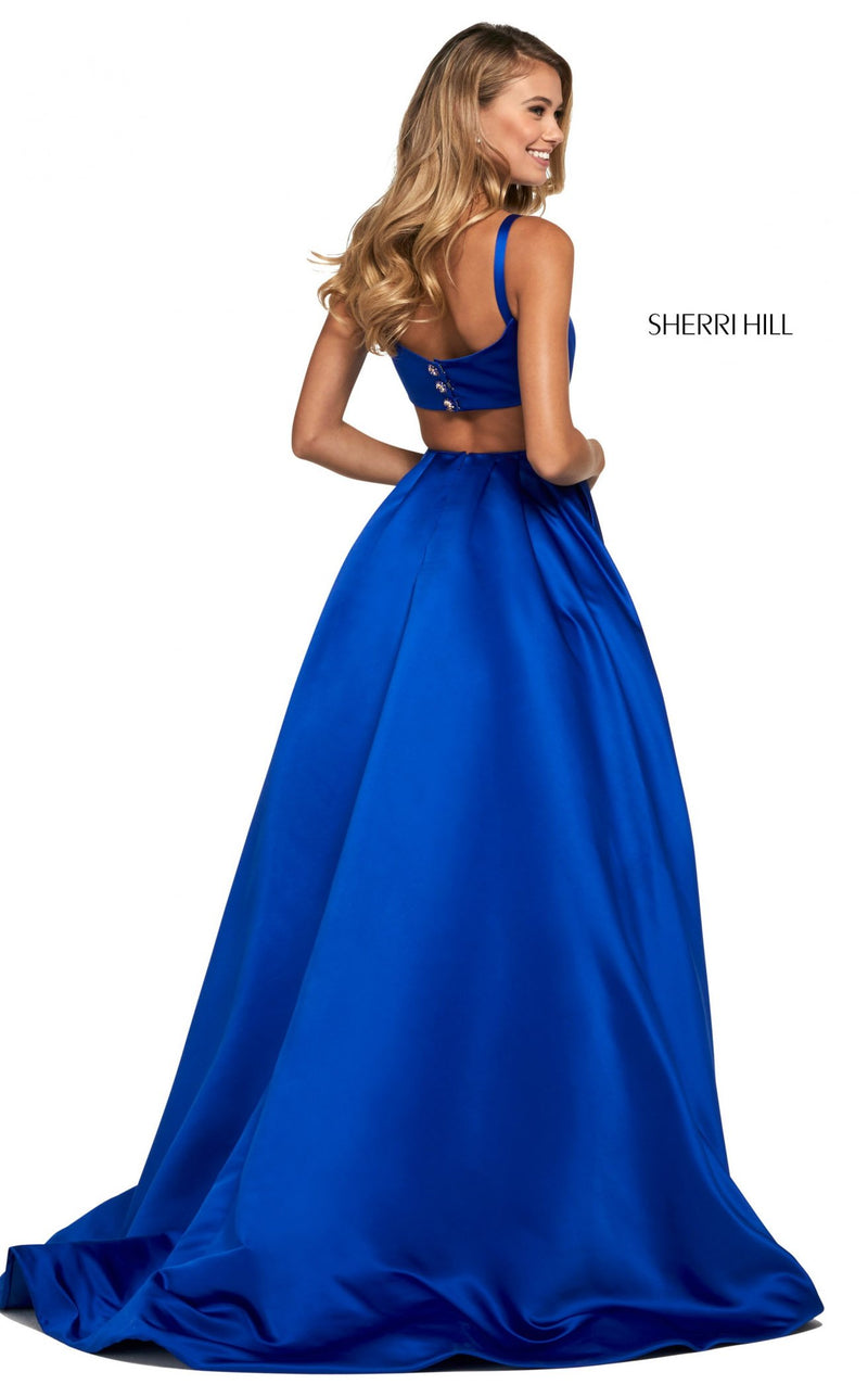 Sherri Hill 53316 Dress Royal