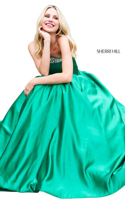 Sherri Hill 53320 Dress Emerald
