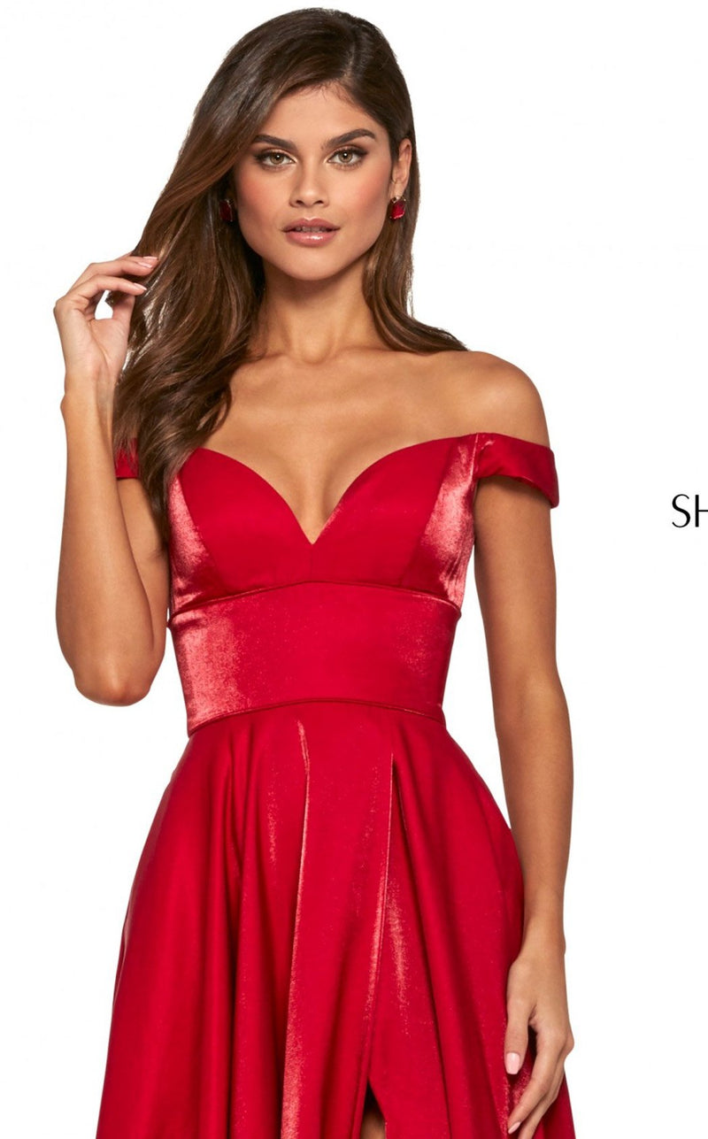 Sherri Hill 53324 Dress Red