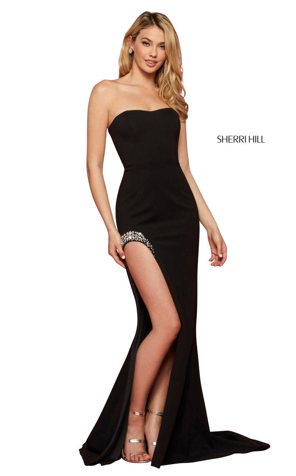 Sherri Hill 53332 Dress Black