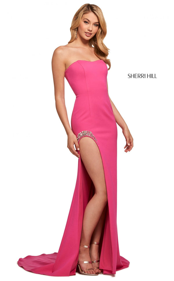 Sherri Hill 53332 Dress Fuchsia