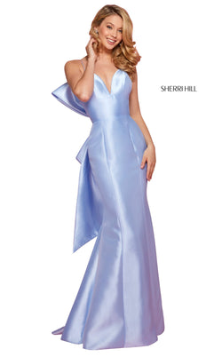 Sherri Hill 53336 Dress Light-Blue