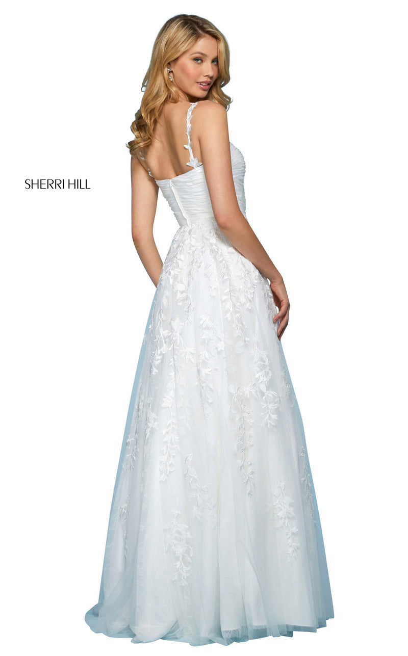 Sherri Hill 53344 Dress Ivory