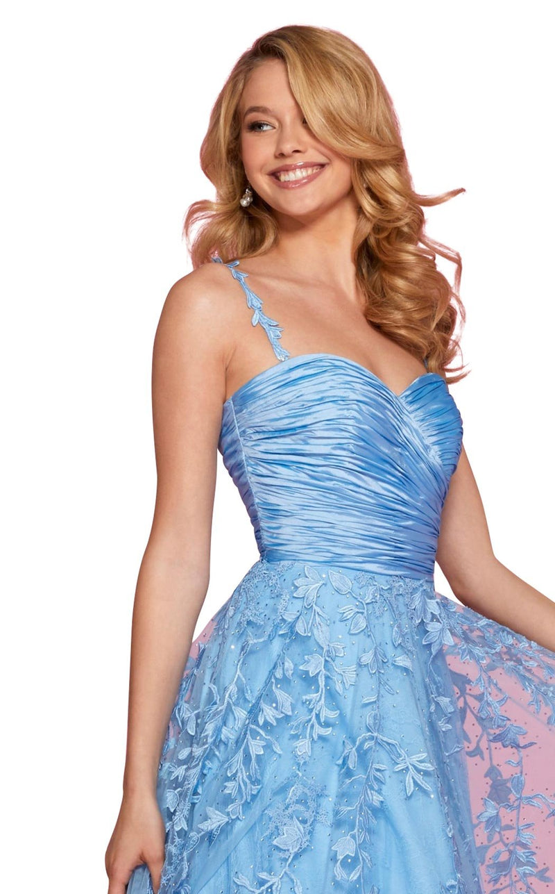 Sherri Hill 53344 Dress Light-Blue