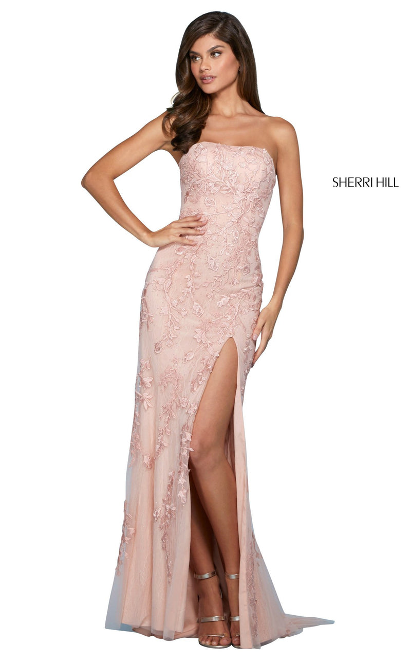 Sherri Hill 53345 Dress Blush