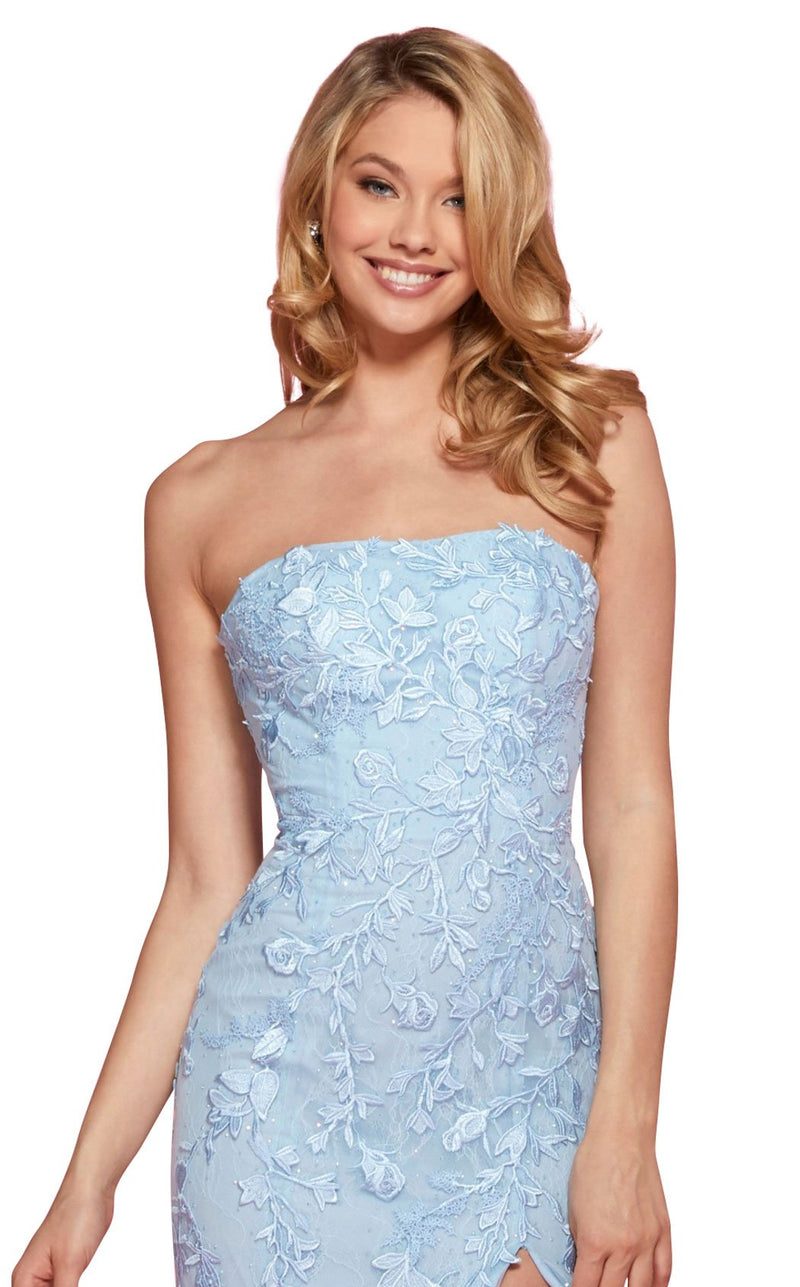 Sherri Hill 53345 Dress Light-Blue