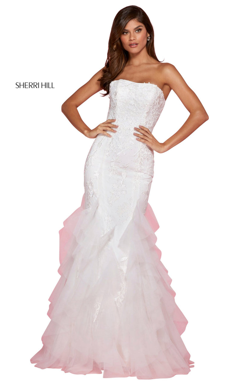 Sherri Hill 53346 Dress Ivory